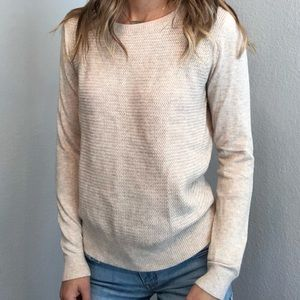 Ann Taylor loft crewneck knit sweater